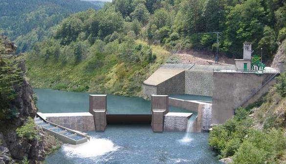 Ancien projet barrage de Poutès