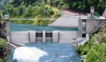 Nouveau projet du projet de barrage de Poutès